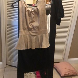 Tan and brown dress never worn